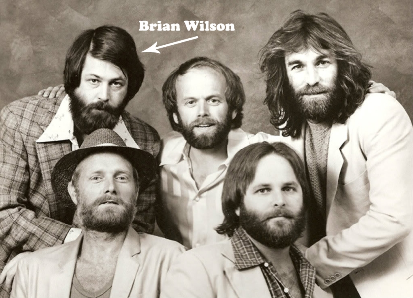 Brian Wilson & The Beach Boys circa 1968