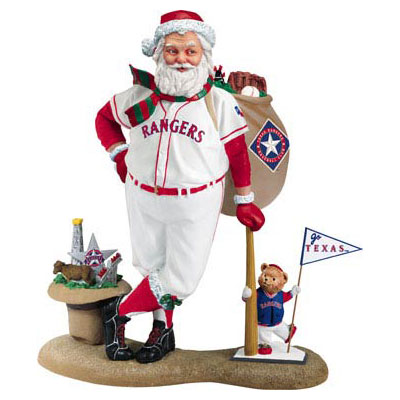 Santa in Rangers Uniform