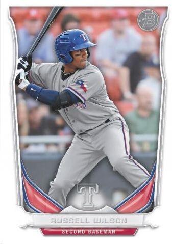 Russell Wilson, Texas Rangers (!)