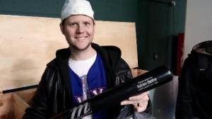 The Boy With The Beltre Bat